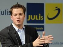 Lasse Becker als Bundesvorsitzender der Jungliberalen wiedergewaehlt