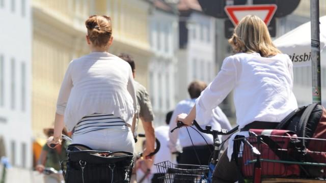 Fahrradunfälle Mehr Unfälle durch Fahrradfahrer