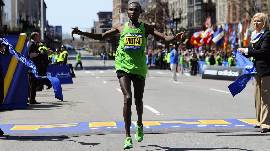 Boston Marathon Mutai