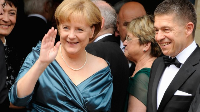 Bayreuther Festspiele Bundeskanzlerin Angela Merkel