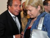 Sondersitzung Parteivorstand Linke Klaus Ernst und Gesine Lötzsch