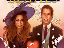 Handout of the cover of 'The Royals: Prince William & Kate Middleton'