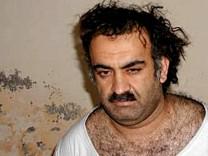Khalid Scheich Mohammed nach seiner Festnahme in Pakistan 2003