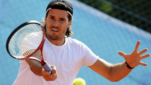 Training ATP-Turnier München - Thomas Haas