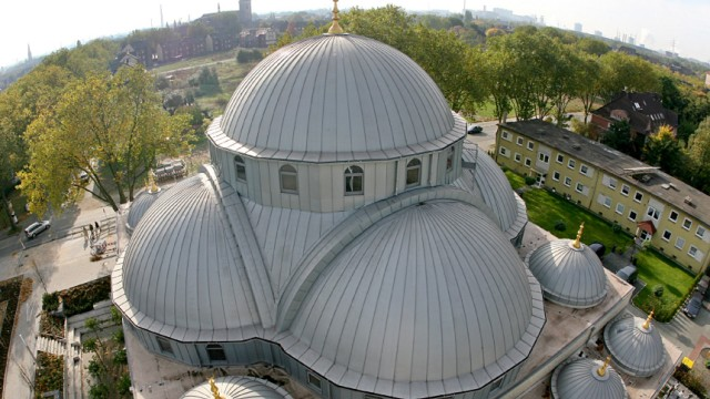 Merkez-Moschee in Duisburg vor Eröffnung