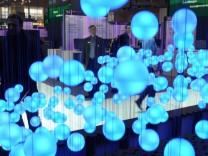 CeBIT 2009 Aufbau