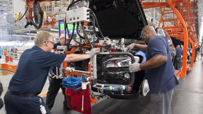 Fertigung BMW X3