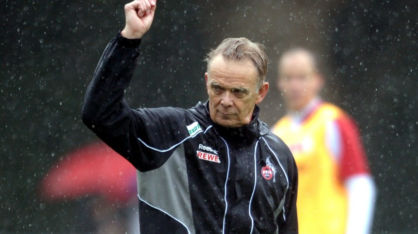 Training FC Köln - Volker Finke