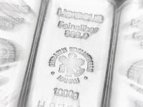 Silber überspringt Rekordhoch von 1980