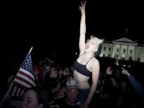 USA BIN LADEN DEATH REACTION