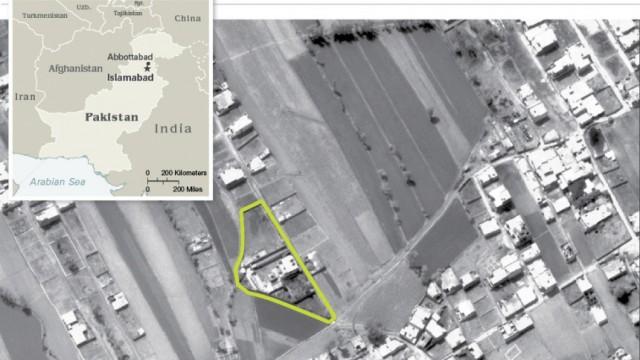 Osama bin Laden Seebestattung für Al-Qaida-Führer