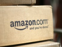 File photo of a box from Amazon.com in Golden, Colorado