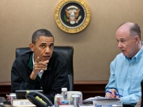 National Security Team in the Situation Room of the White House