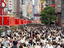 Chinas Bevölkerung steigt auf 1,3397 Milliarden