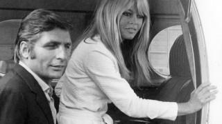 Gunter Sachs mit Brigitte Bardot