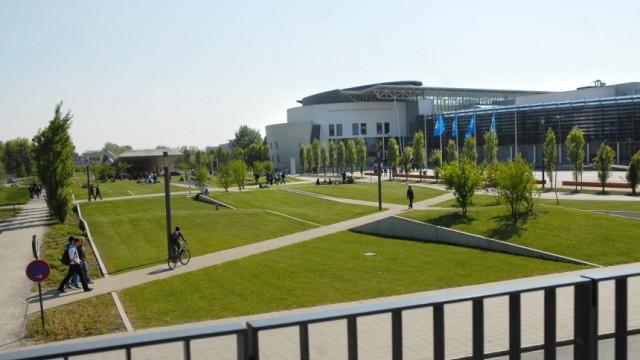 Semesterbeginn in München Campus in Garching