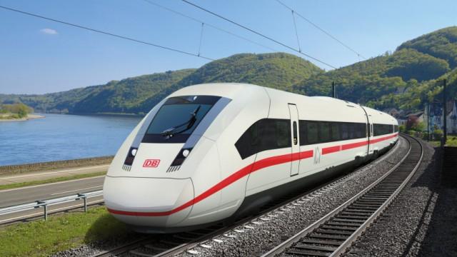 Neue ICx-Fernzüge bis Tempo 249 schnell