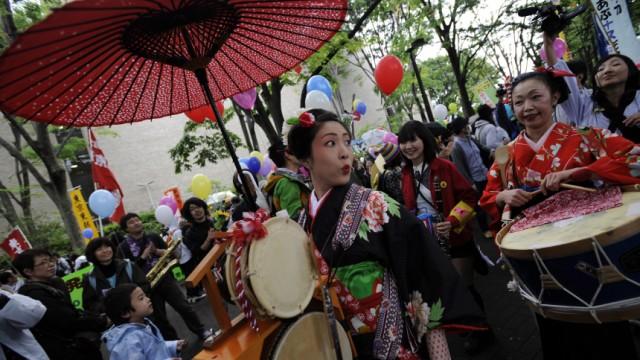 Tokio atomkraft Demo AKW