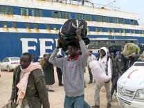 Flüchtlinge aus Misurata