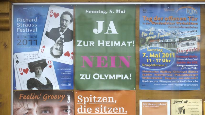 Buerger von Garmisch-Partenkirchen stimmen ueber Olympia ab