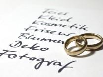 Auf den Rahmen kommt es an: Budgetplanung  für die Hochzeit