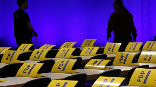 FDP-Bundesparteitag - Vorbereitungen