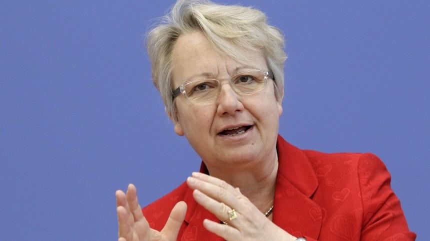 Schule Annette Schavan im Gespräch