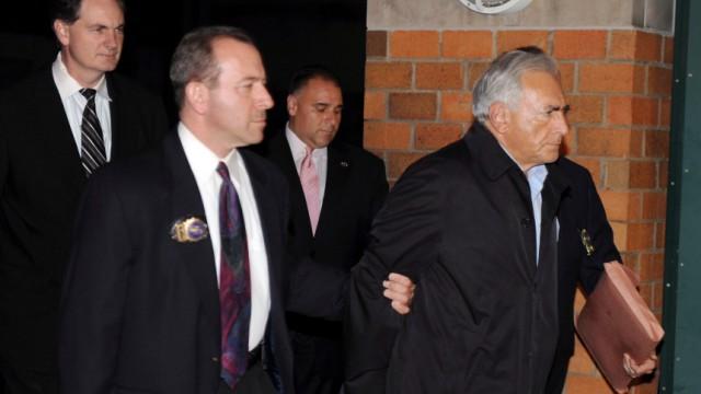 IMF director general Strauss-Kahn