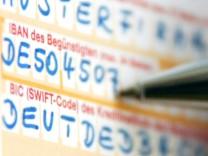 Lange Europa-Kontonummern werden Pflicht