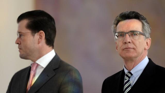 De Maiziere Verteidigungsminister Guttenberg