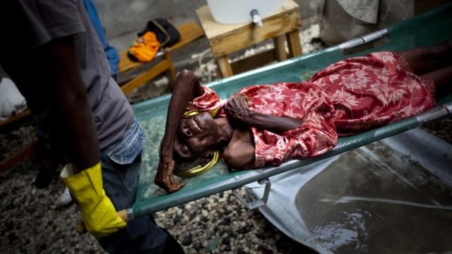 Erdbeben auf Haiti Infektionskrankheiten