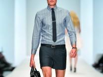 Nicht mit kurzen Hosen ins Büro