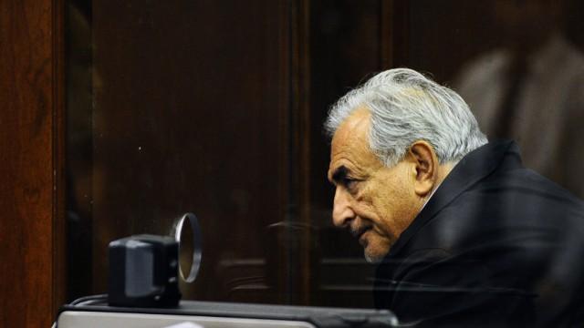 Dominique Strauss-Kahn vor dem Manhattan Criminal Court