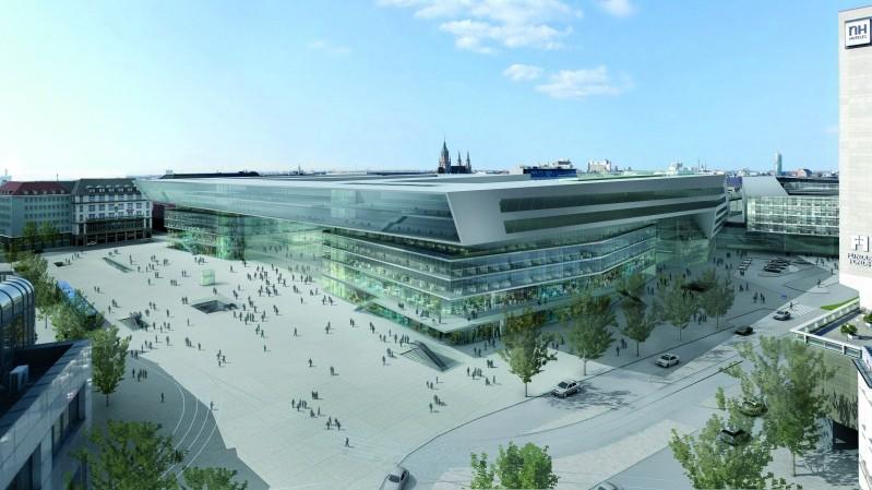 simulation Hauptbahnhof auer+weber