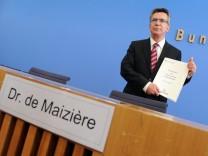 de Maiziere zur Bundeswehrreform