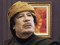 Unterbreitet seinen Gegner ein neues Angebot: Machthaber Gaddafi