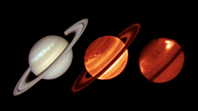 Astronomen blicken tief in Monstersturm auf dem Saturn