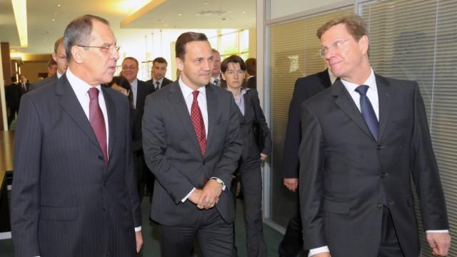 Außenminister Westerwelle besucht Kaliningrad
