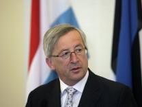 Luxembourg Prime Minister Jean-Claude Juncker visits Estonia