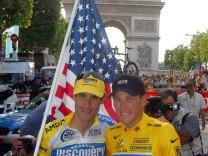 Lance Armstrong und George Hincapie
