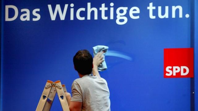 Vor dem Bundesparteitag feilt die SPD an ihrem sozialen Profil