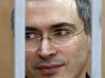 Chodorkowski mit Wunde im Gefängnis-Krankenhaus
