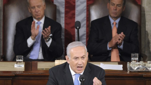 Benjamin Netanyahu, Joe Biden, John Boehner