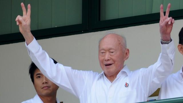 Lee Kuan Yew Singapur: Der Staatsgründer tritt ab