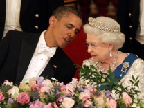 BESTPIX  US President Barack Obama Visits The UK - Day One