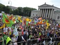 Demo gegen Atomkraft - München