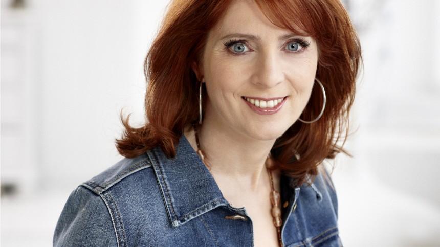 Monica Lierhaus moderiert Fernsehlotterie