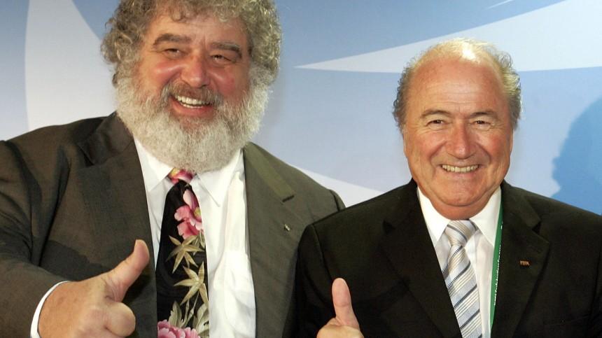 Chuck Blazer und Sepp Blatter