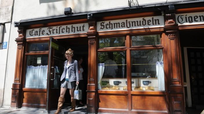 Cafe In Munchen Cafe Frischhut Am Viktualienmarkt Munchen
