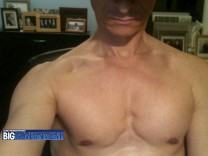 A photo off the website Biggovernment.com shows a shirtless U.S. Representative Anthony Weiner